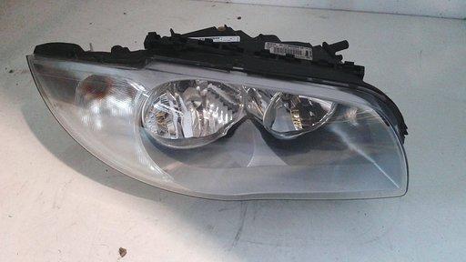proiettore faro anteriore destro dx usato originale BMW Serie 1 2004>