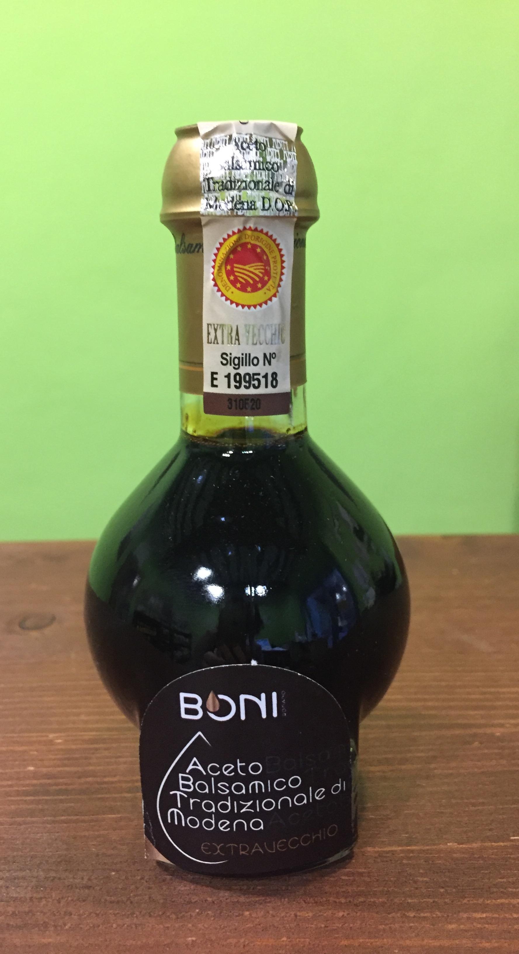 Aceto Balsamico Tradizionale di Modena Extra Vecchio DOP invecchiato almeno 25 anni cl 10