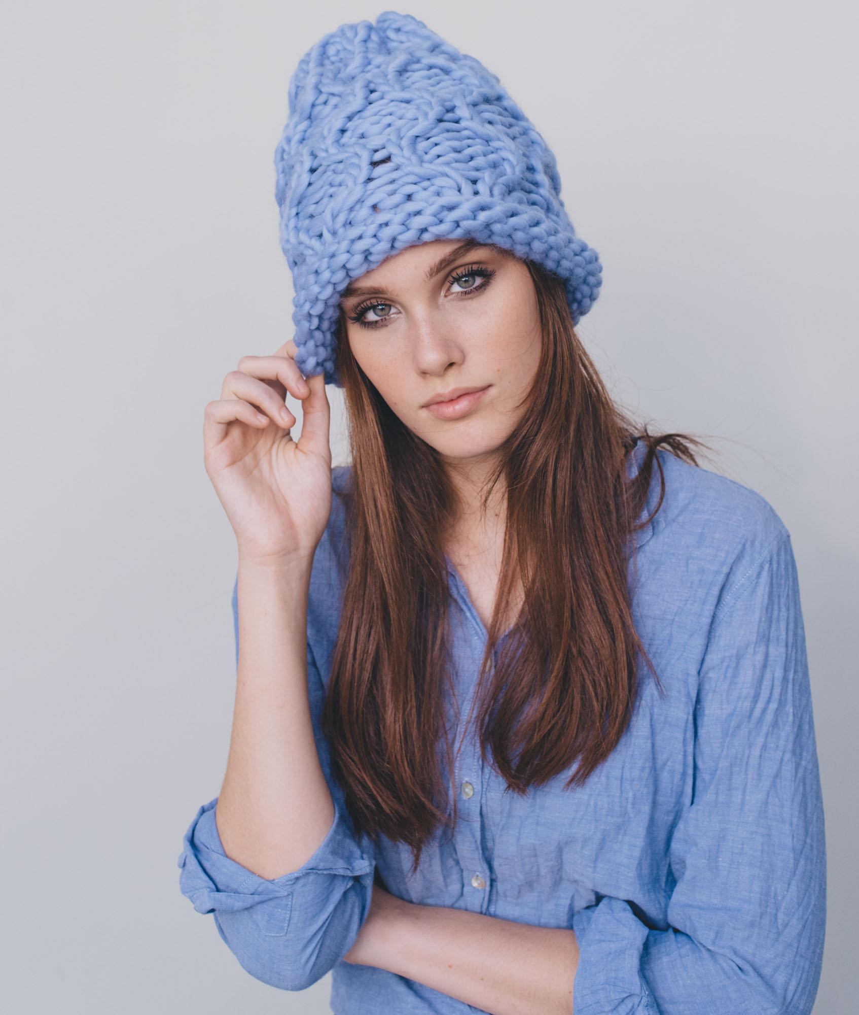 Marry Me! Beanie  Kit Maglia Lana per Cappelli + Schema 18c657a16bb2