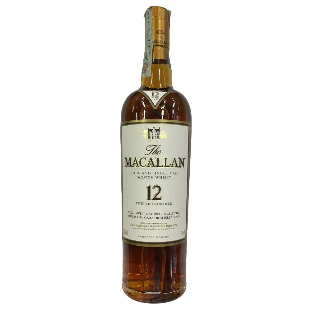 The Macallan - Whisky Single Malt 12 YO