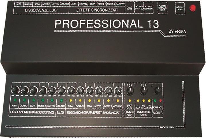 Professional 13 - centralina luci