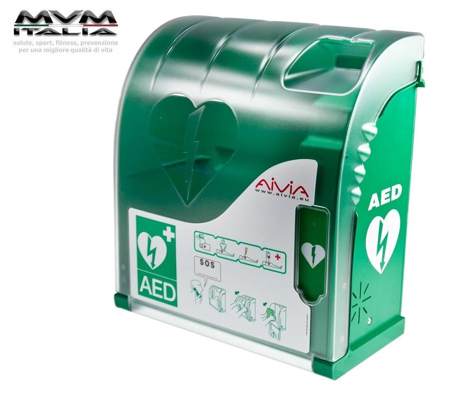 TECA AIVIA 100 per defibrillatore, allarmata