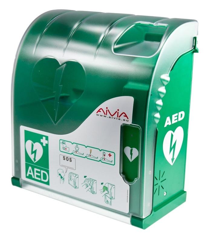 Teca AIVIA S per defibrillatore uso interno esterno