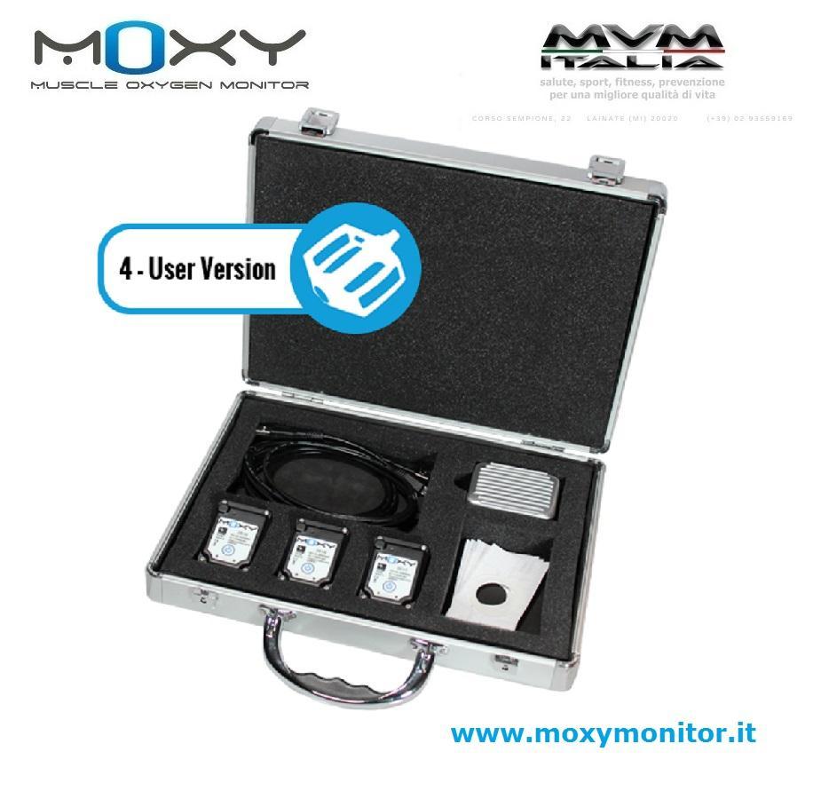 Moxy Monitor PRO kit 3pz