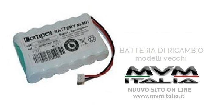Batteria di ricambio Compex (vecchi modelli)