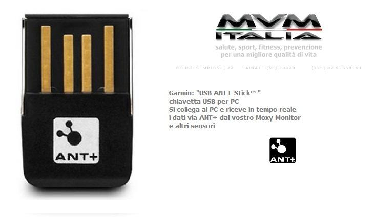 USB ANT+ Stick Garmin Moxy