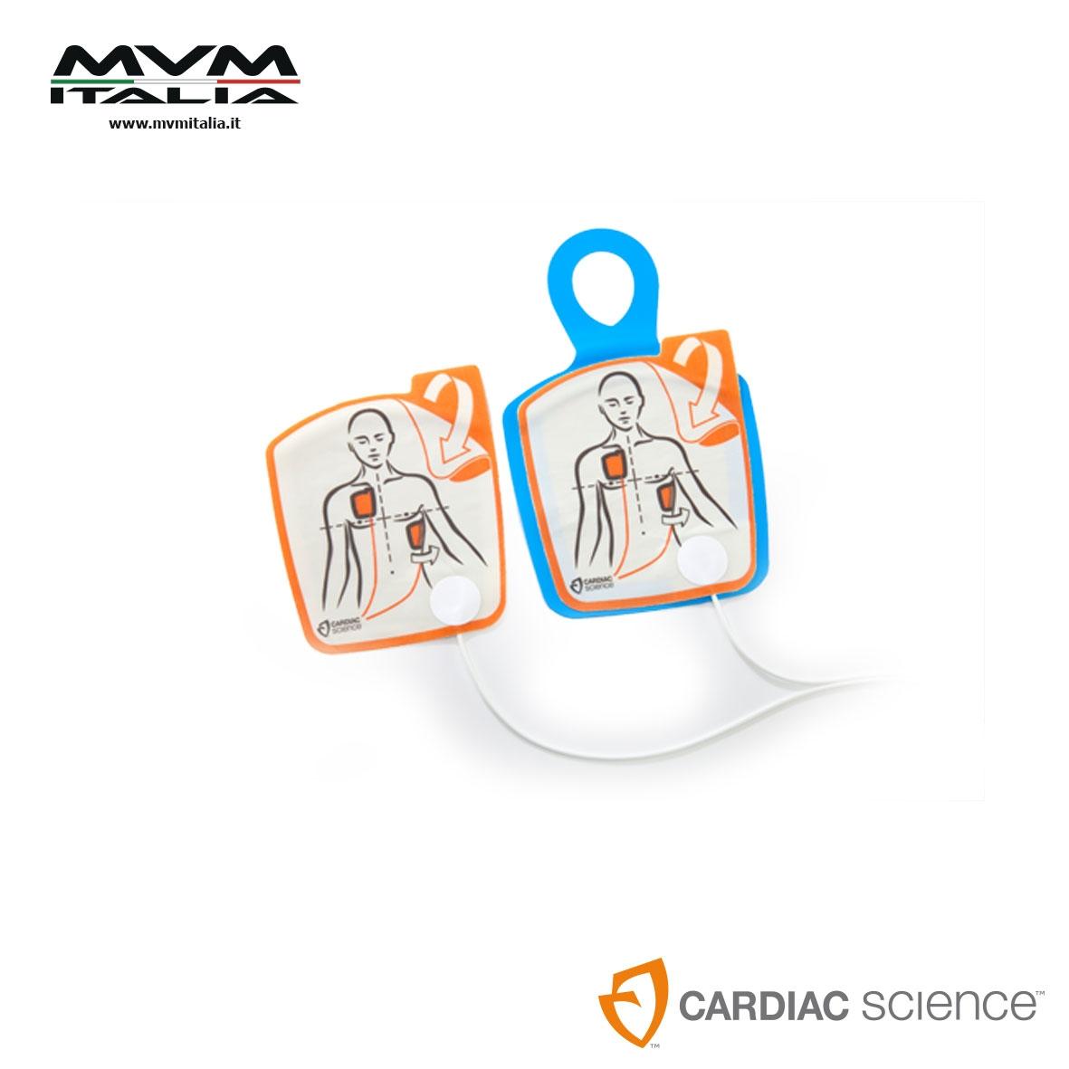 Elettrodi non polarizzati di defibrillazione G5/G3 adulti