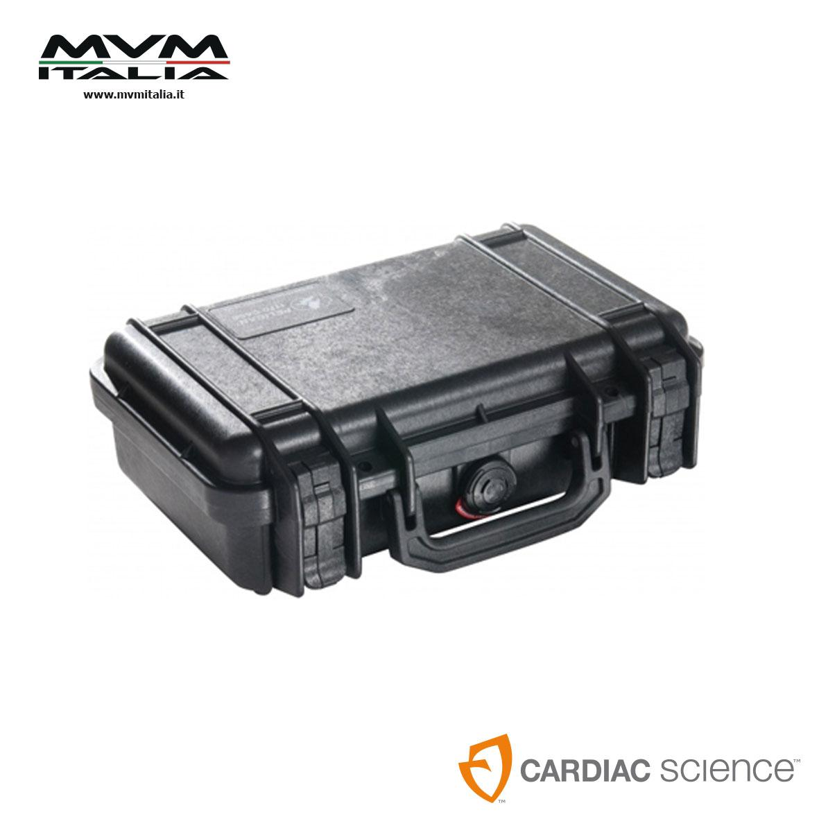 Custodia pelican per defibrillatore CARDIAC science Powerheart G5