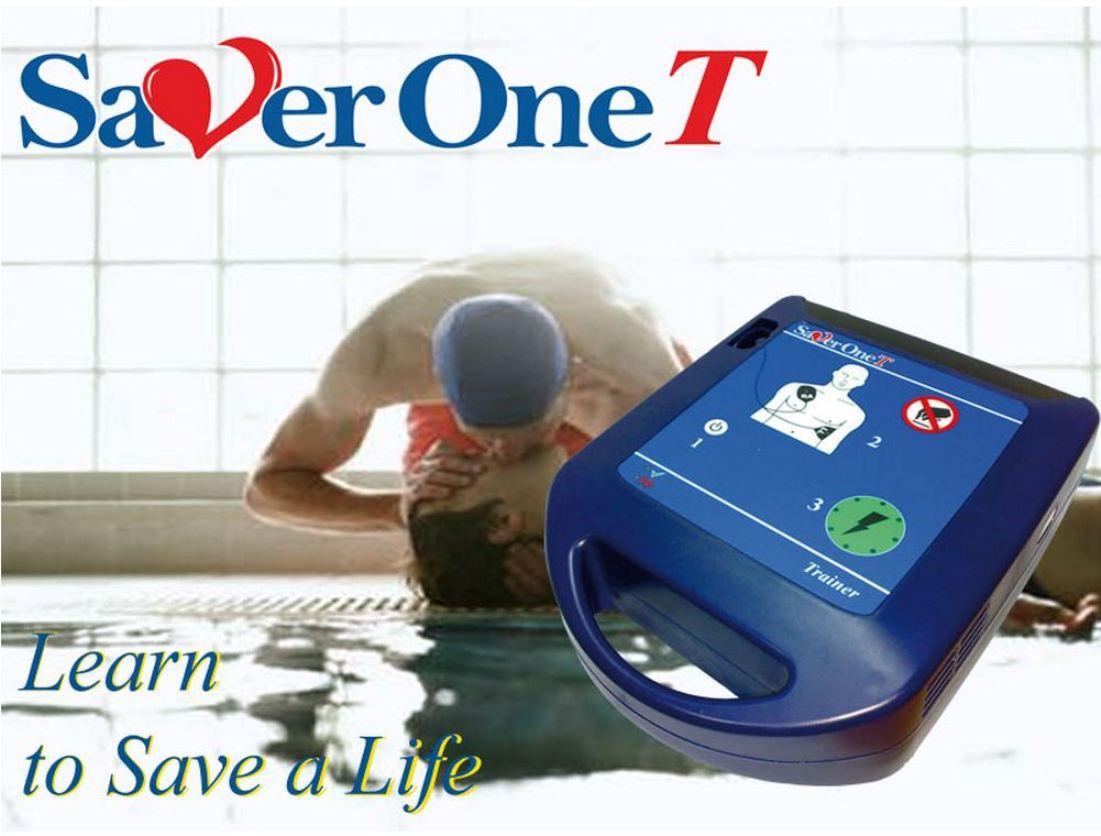Defibrillatore Trainer SAVER ONE T