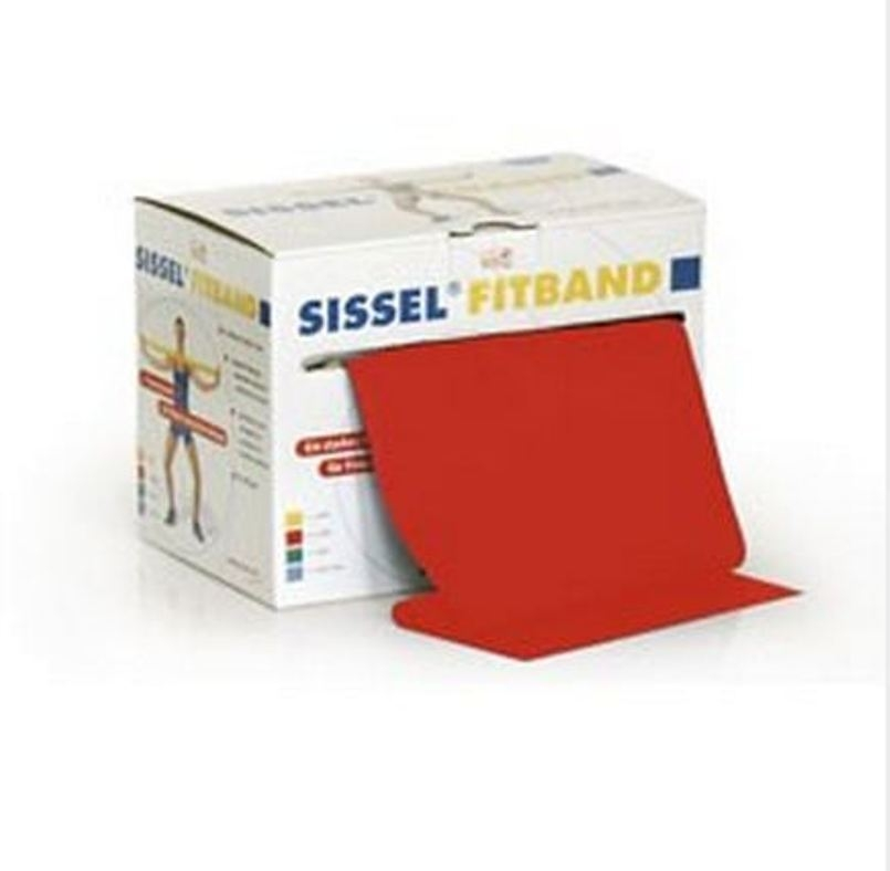 SISSEL® FITBAND rosso 14,5cm rotolo 25m, (medio)
