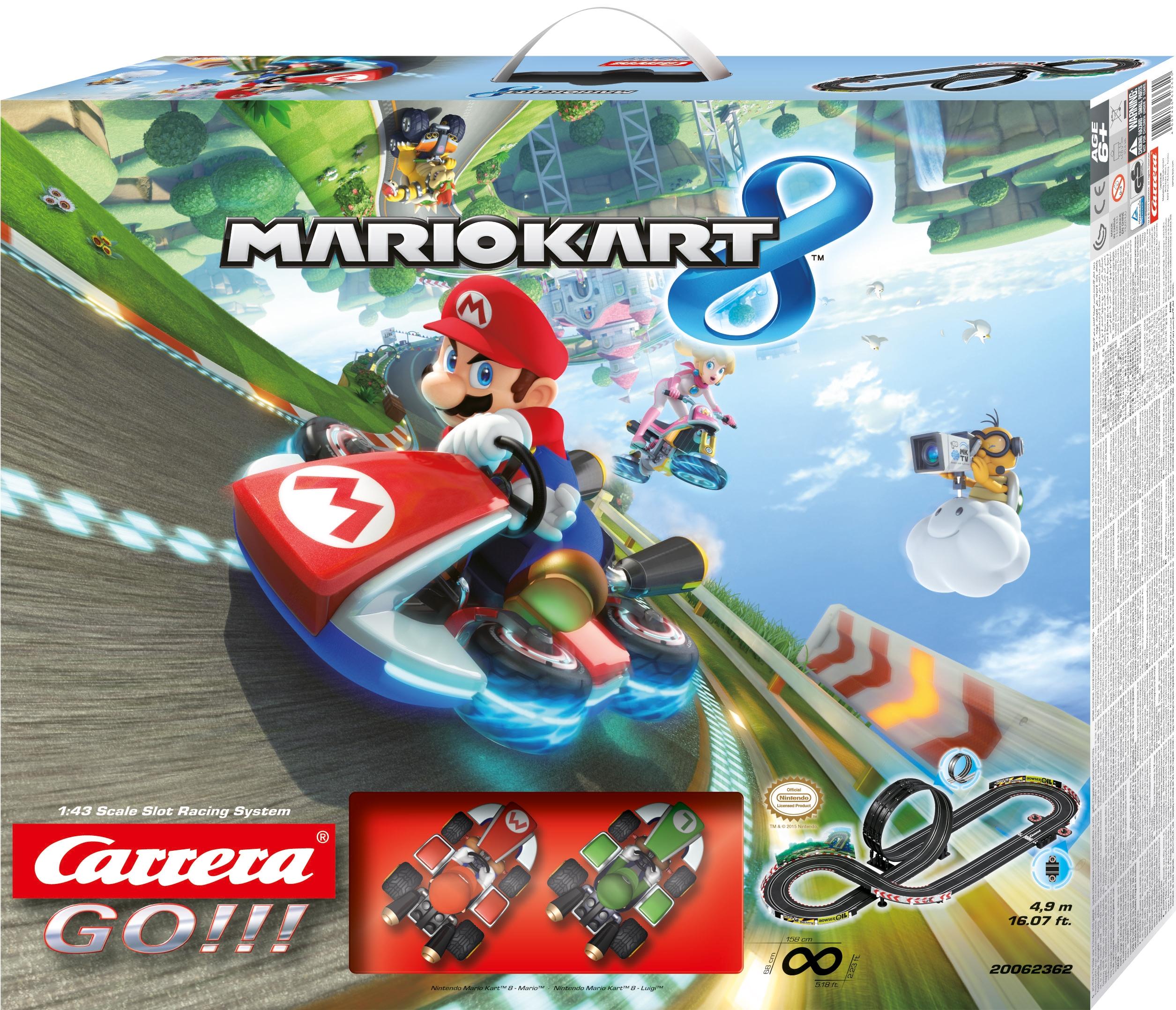 CARRERA GO!!! NINTENDO MARIO KART 8  cod. 20062362
