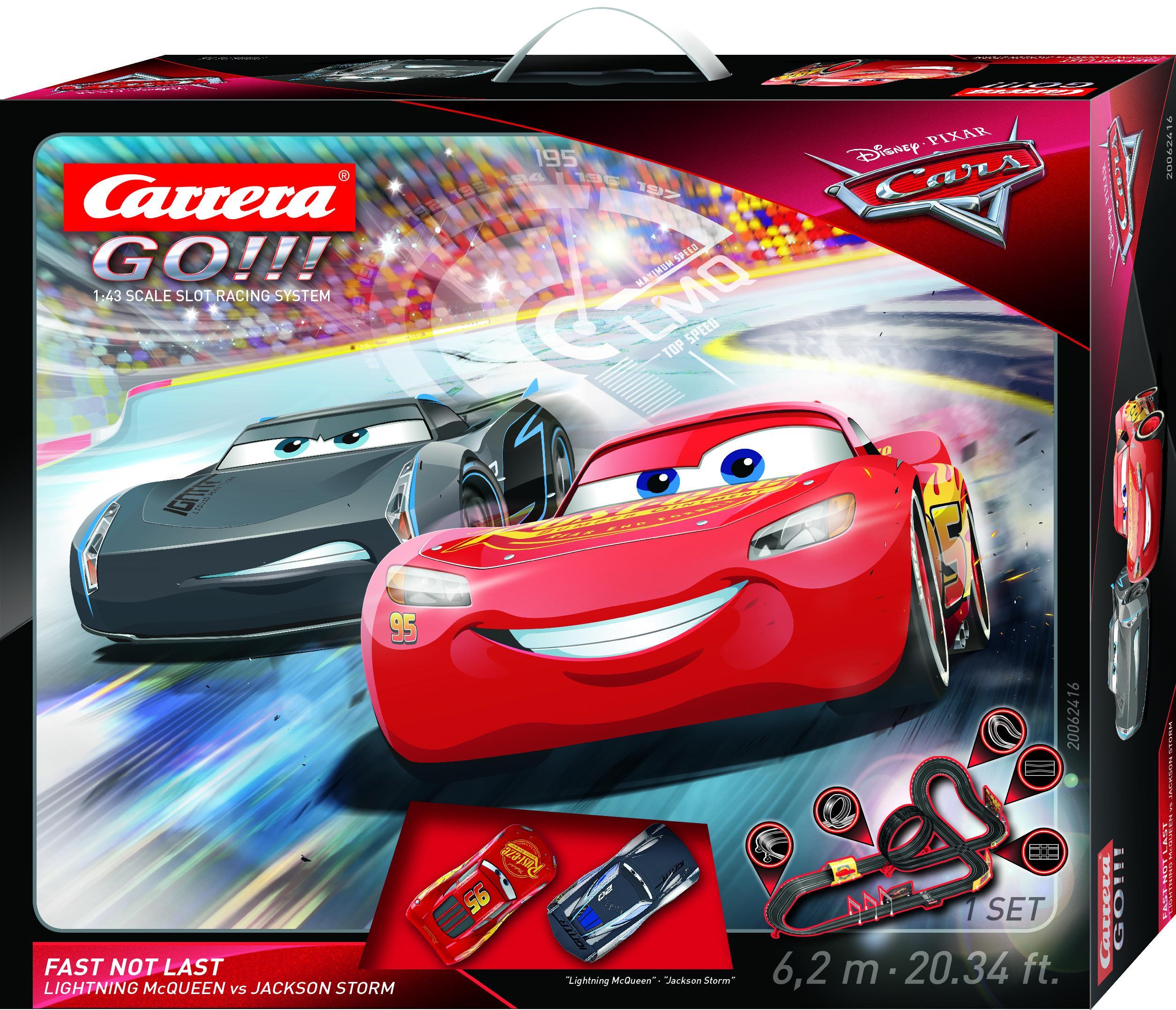 CARRERA GO!!! PIXAR CARS 3 - FAST NOT LAST 20062416
