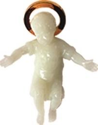 Gesù Bambino fosforo cm. 5