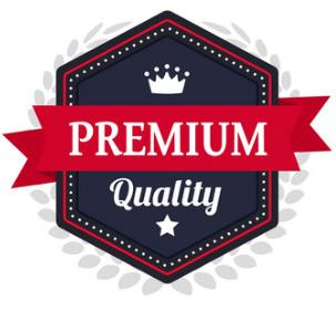 Badge premium quality