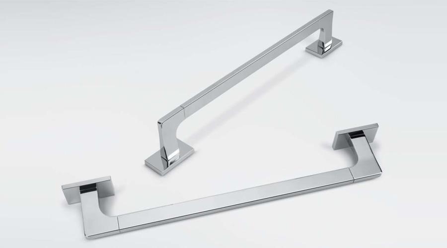Porta salviette per il bagno cm 72 serie Look Colombo design