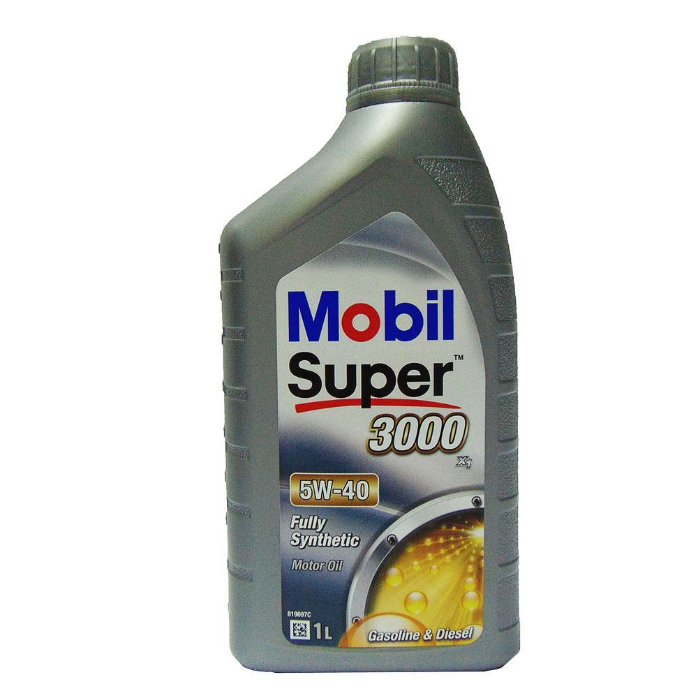 OLIO MOTORE MOBIL AUTO SUPER 3000 X1 5W-40 1L