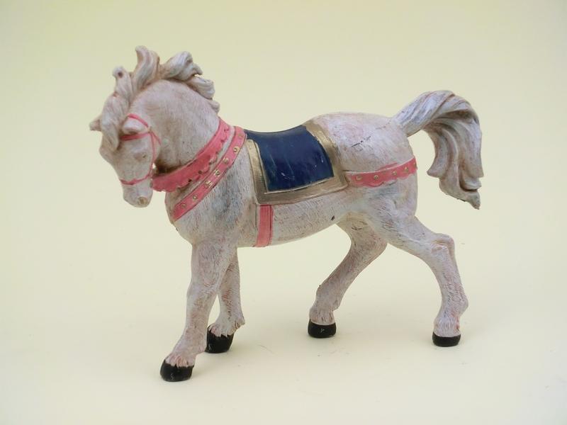 Cavallo bianco cm 12