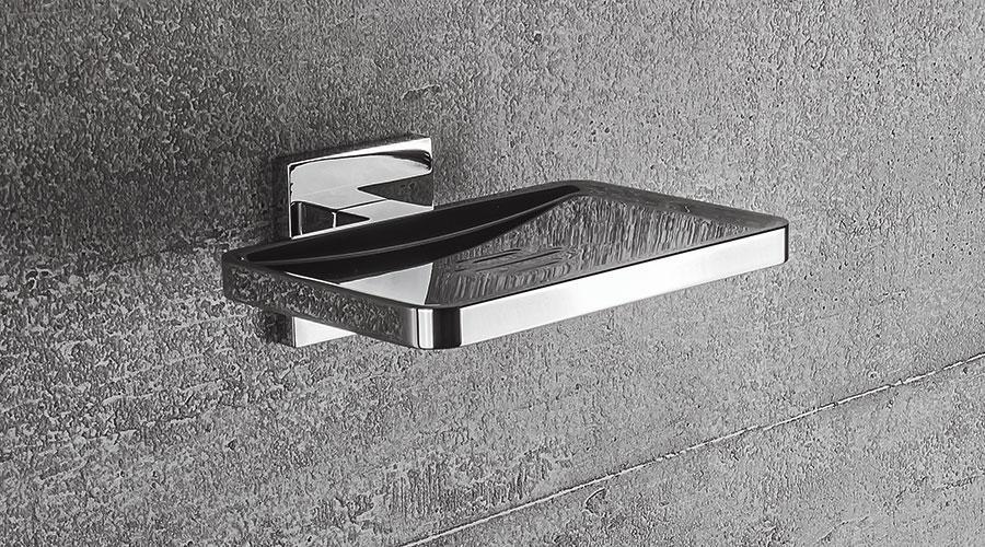 Porta sapone per il bagno serie Basic Q Colombo design