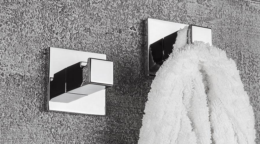 Appendiabiti per il bagno serie Basic Q Colombo design