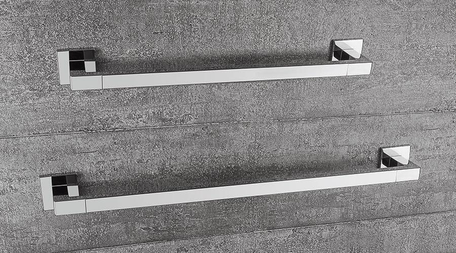 Porta salviette per il bagno cm 69,5 serie Basic Q Colombo design