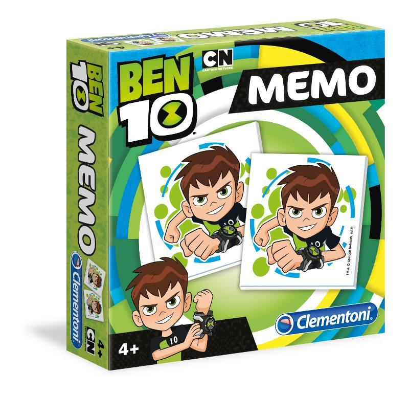 MEMO GAME NEW BEN10 18019 CLEMENTONI