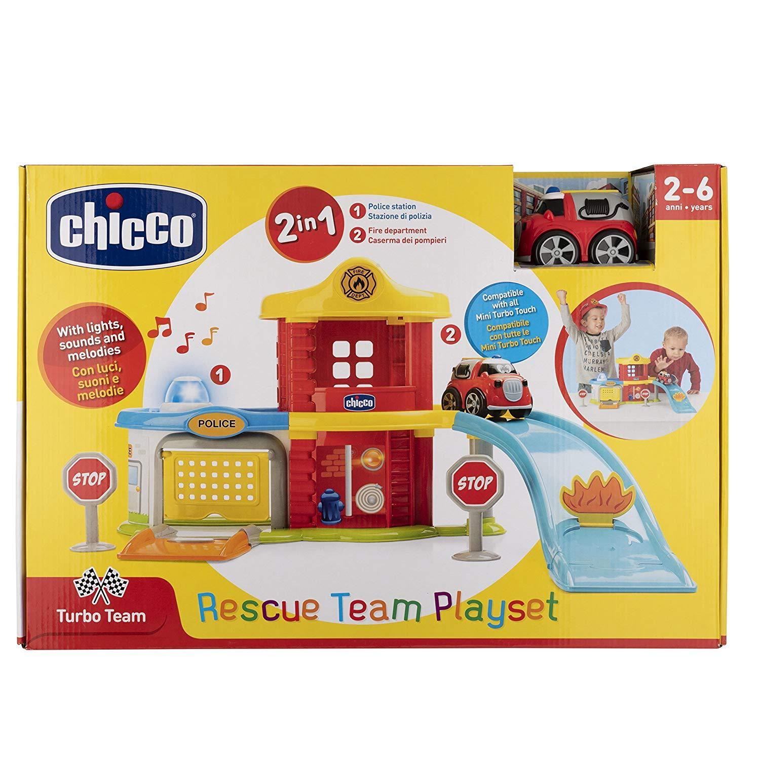 CHICCO RESCUE TEAM PLAYSET 09358 ARTSANA CHICCO