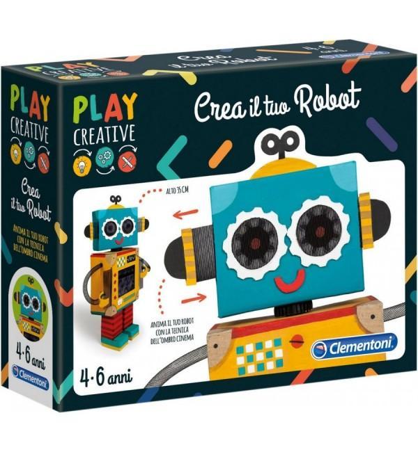 PLAY CREATIVE CREA IL TUO ROBOT 15262 CLEMENTONI