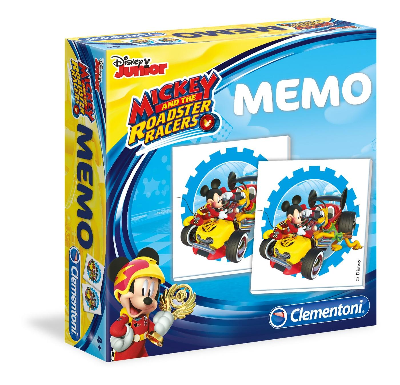 MEMO GAMES MICKEY ROADSTER 18018 CLEMENTONI