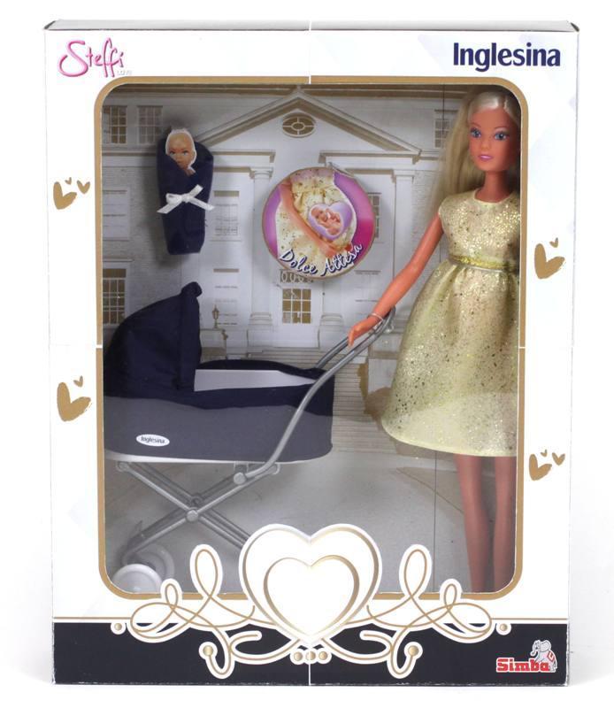 PREGNANT STEFFY LOVE più INGLESINA PRAM 105733282 SIMBA NEW