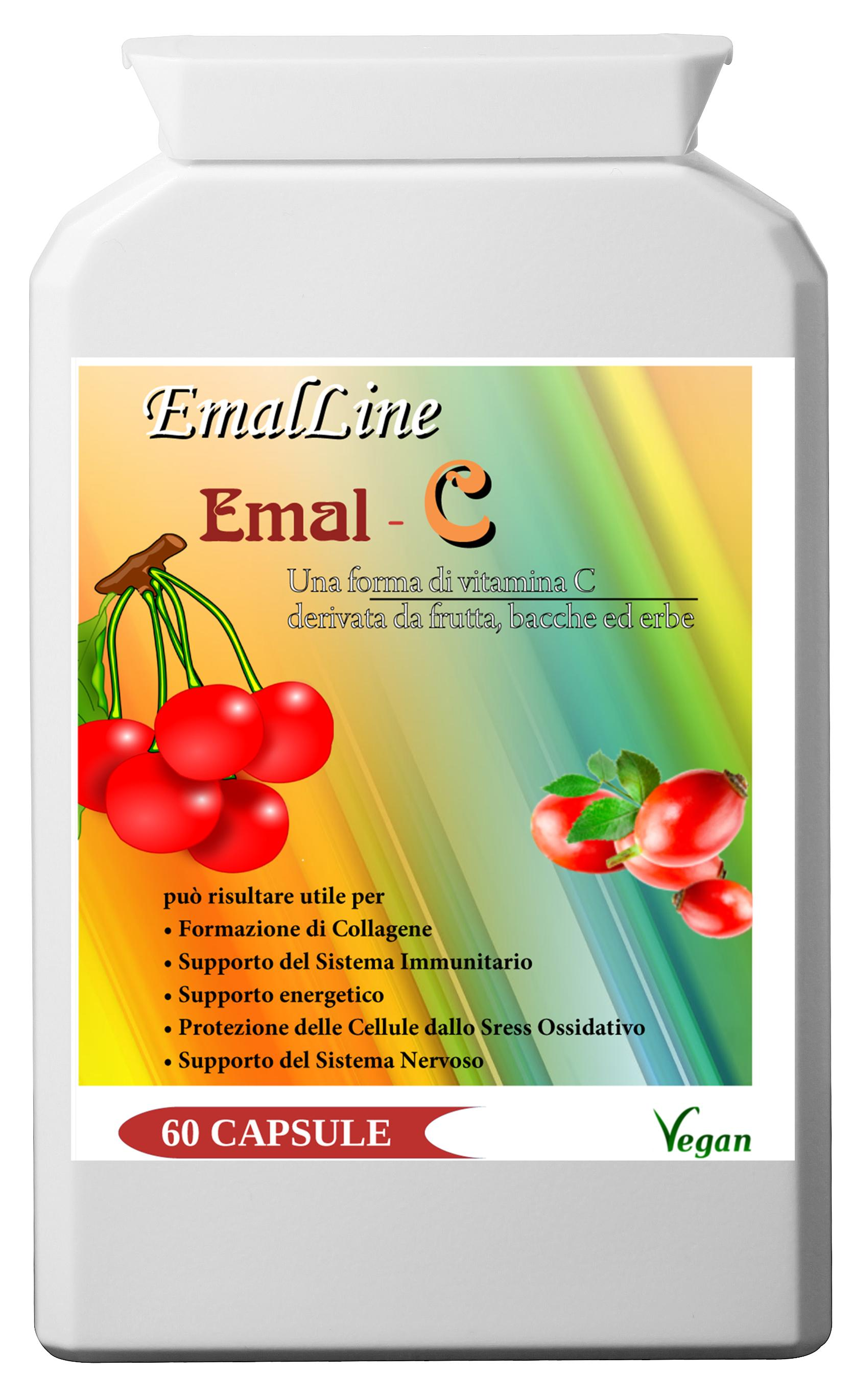 EmalC - 60 capsule: forma alimentare vitamina C