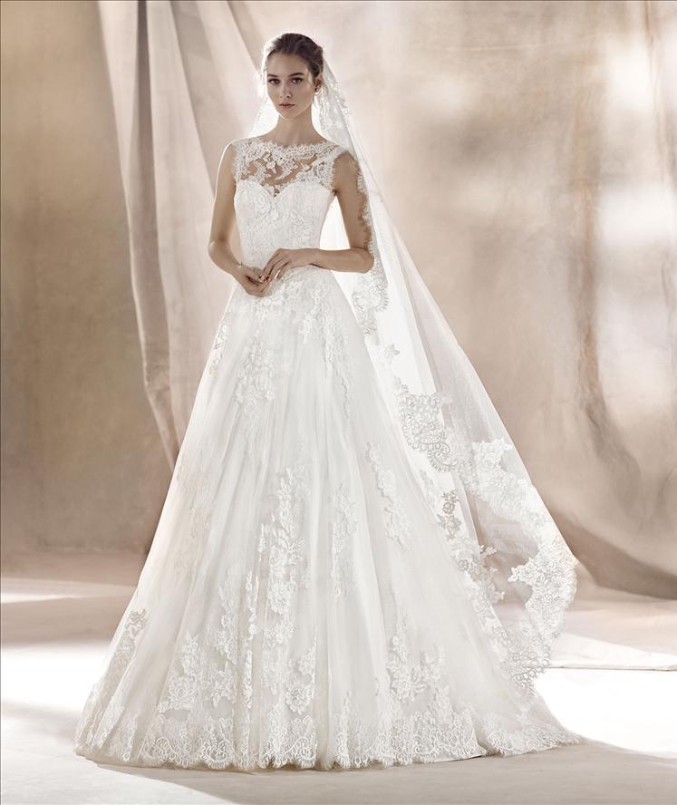 Abito sposa mod. SARA linea WHITE ONE -PRONOVIAS