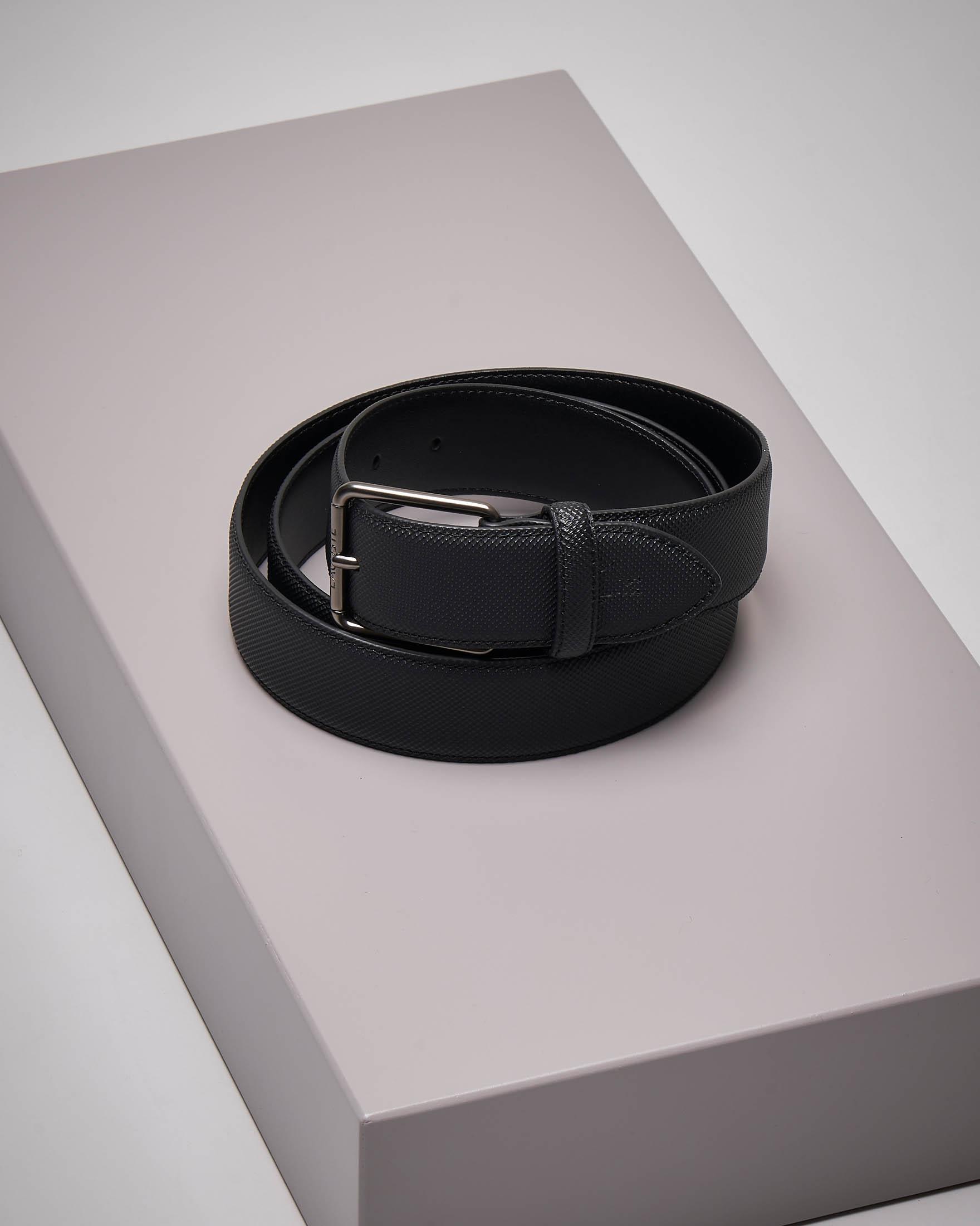 Cintura nera in piquè