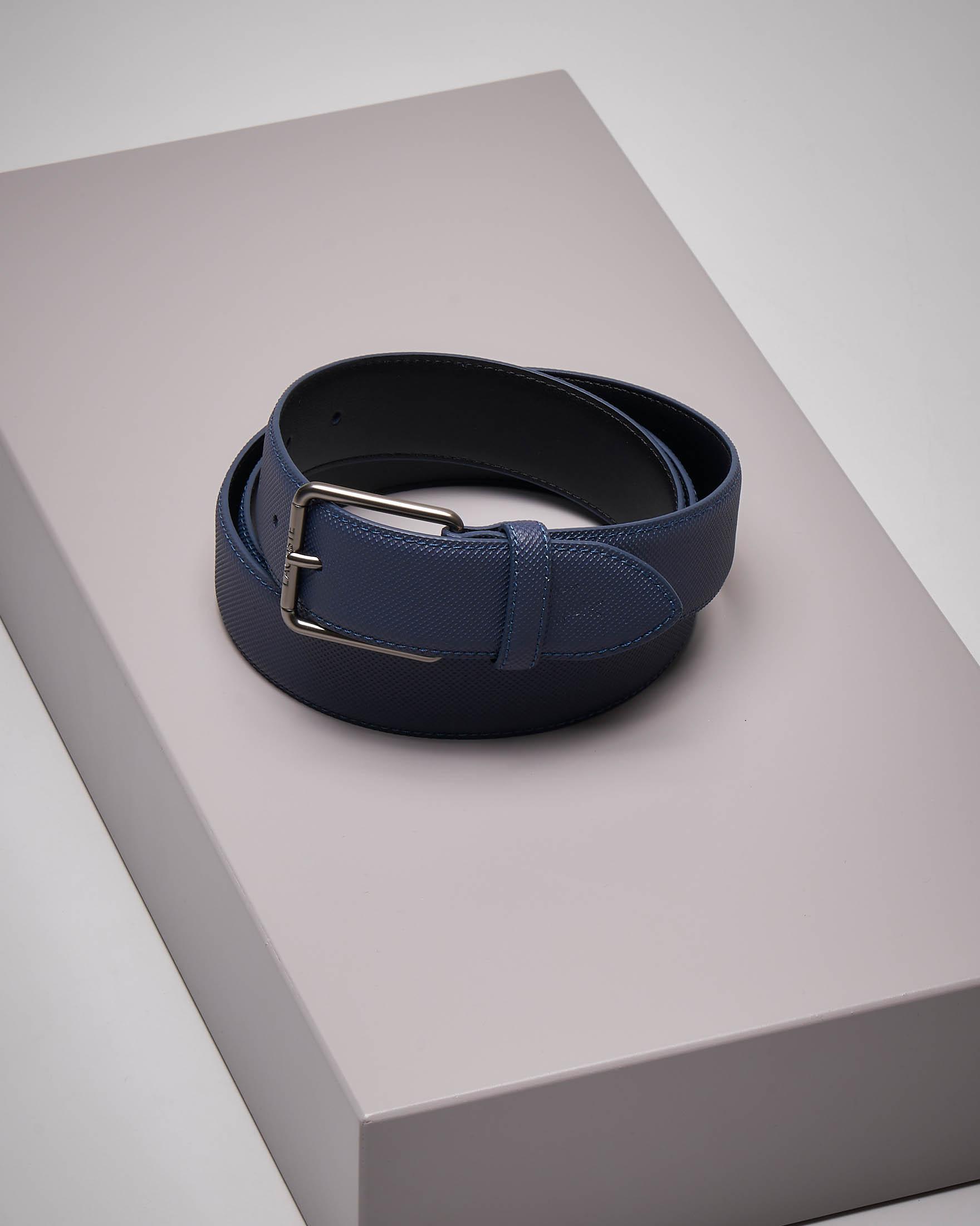 Cintura blu in piquè