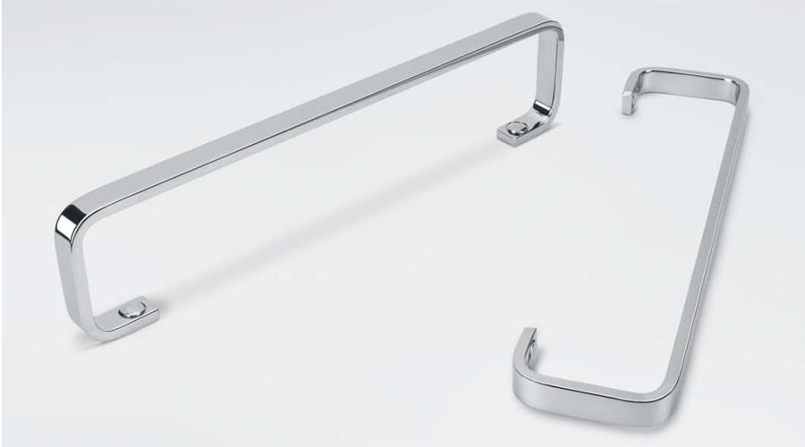 Porta salviette per il bagno cm 45 serie Time Colombo design