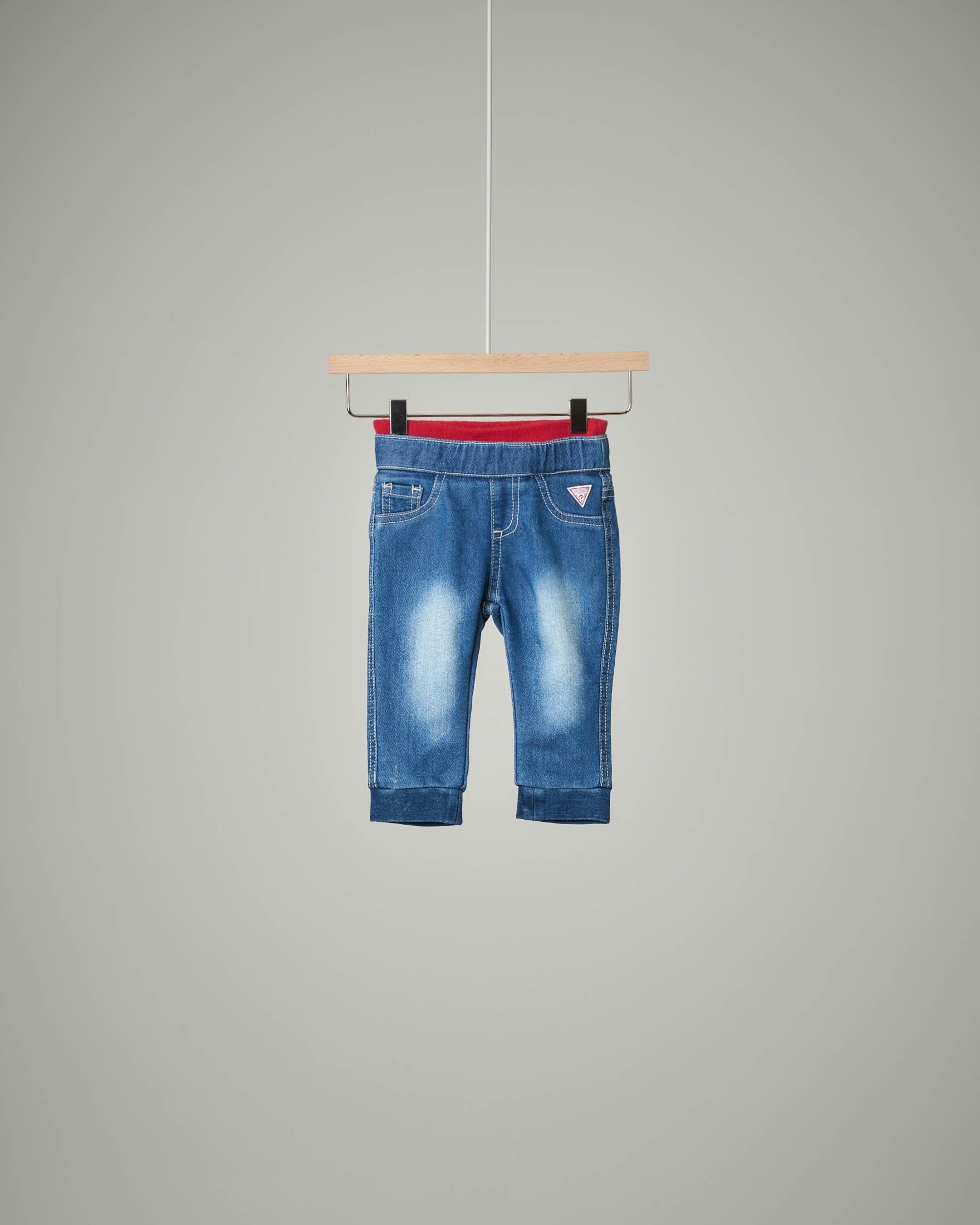 Jeans logo patch