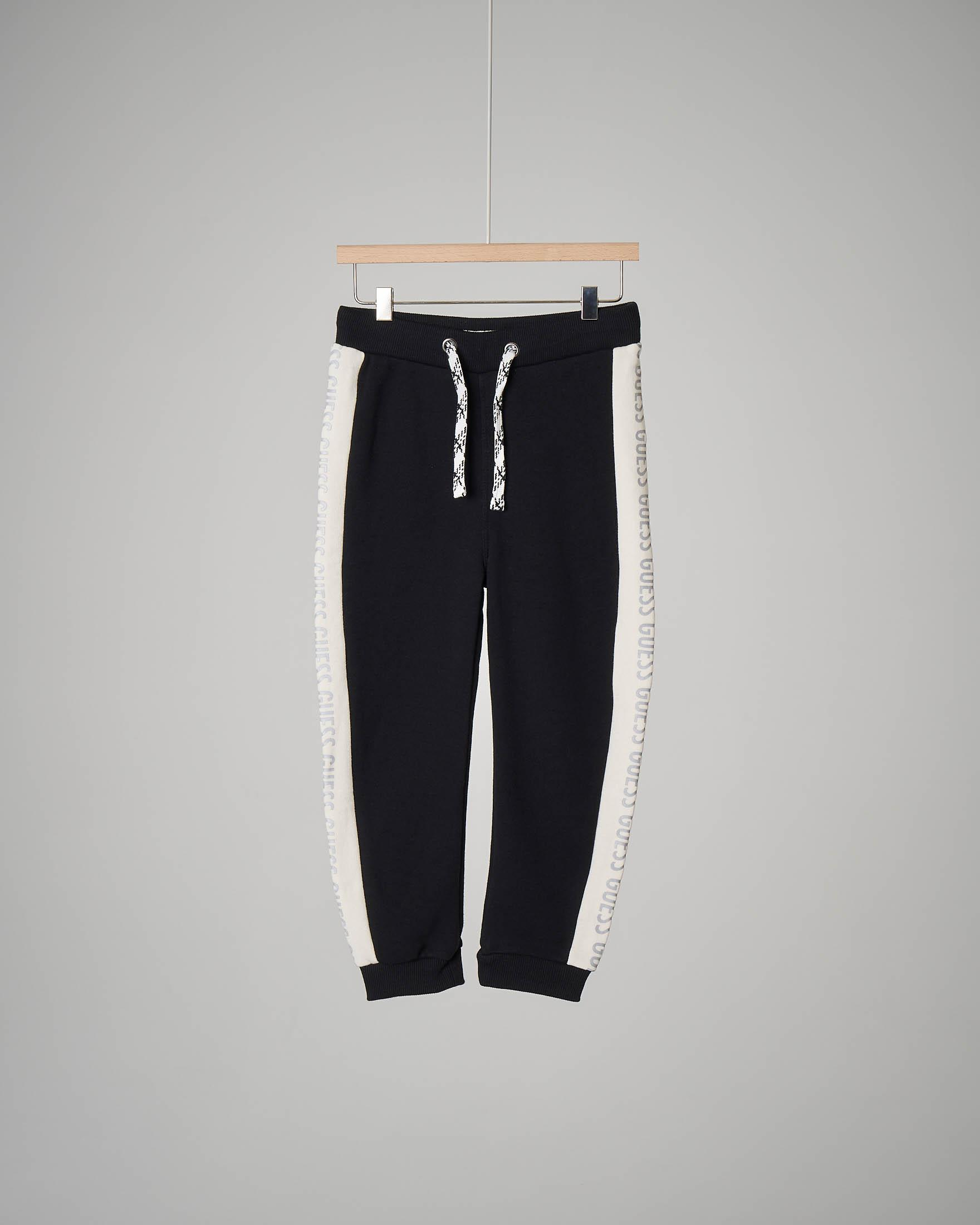 Pantalone felpa nero