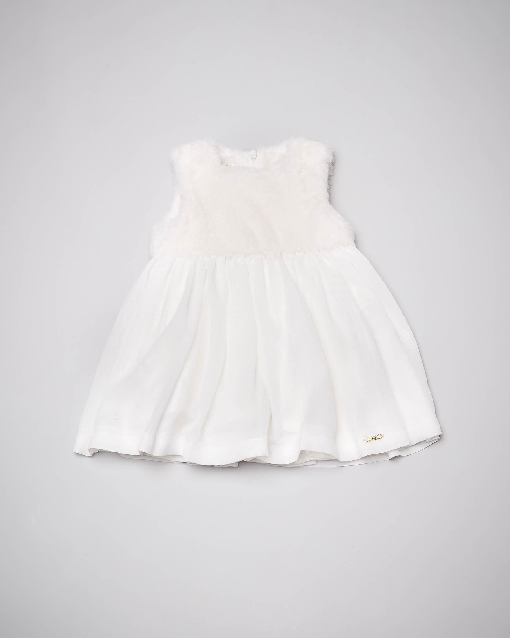 Abito bianco neonata