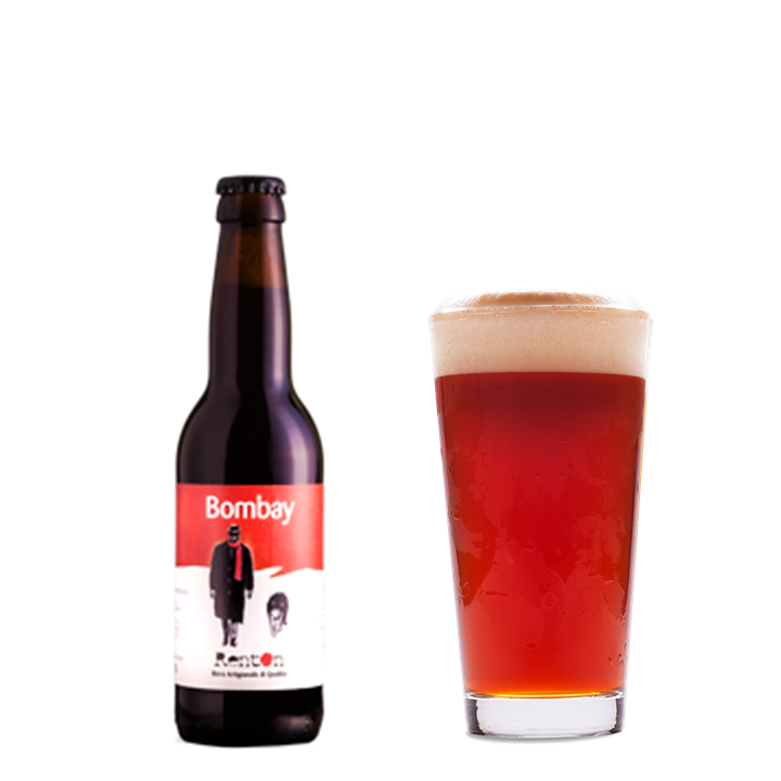 Birra Rossa Bombay - 33/75cl