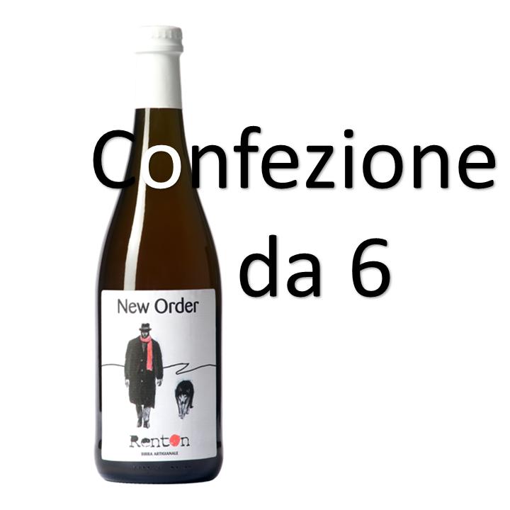 Birra New Order - Confezione Sconto - 6x0,75l
