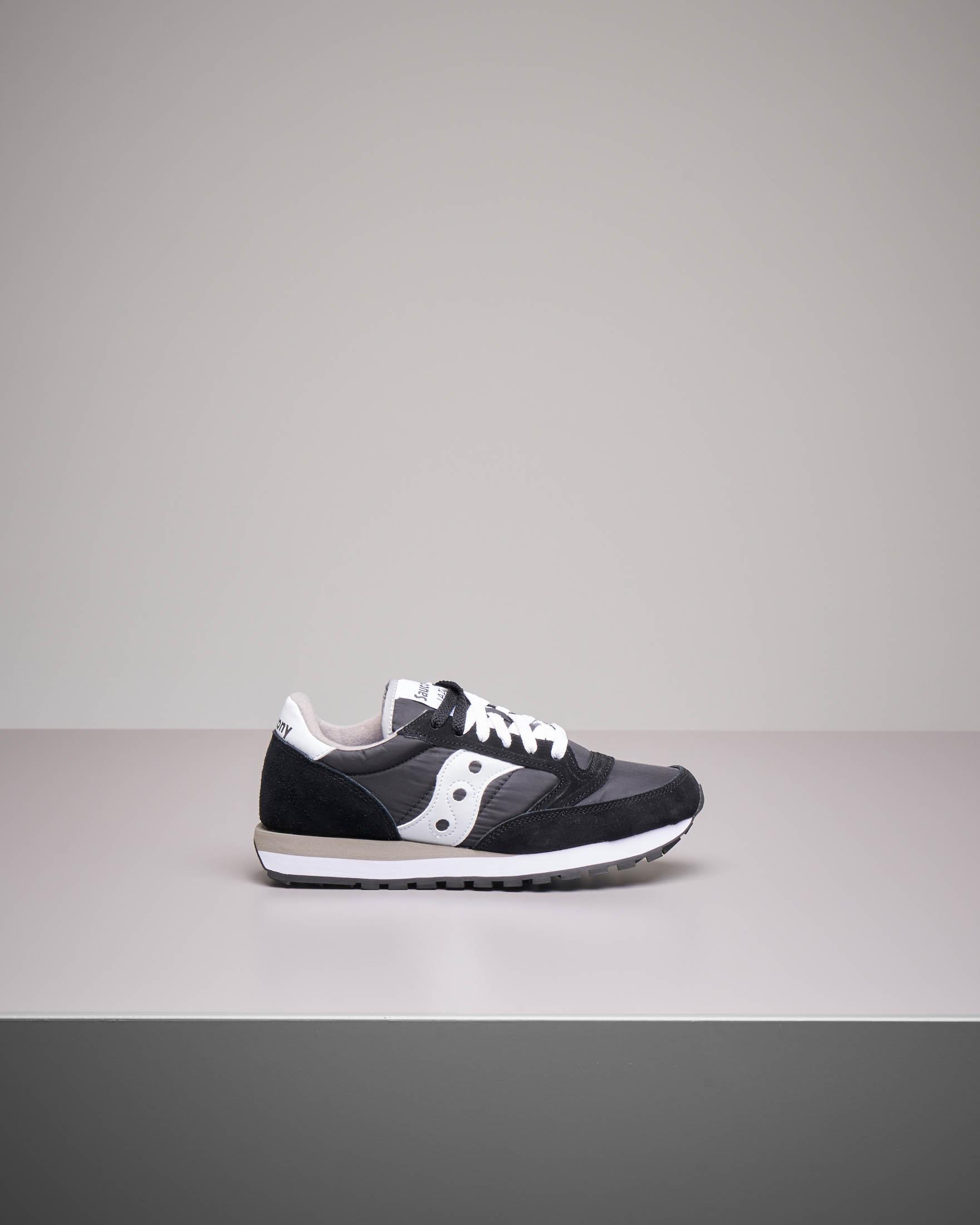 Sneakers Jazz O' nera e bianca