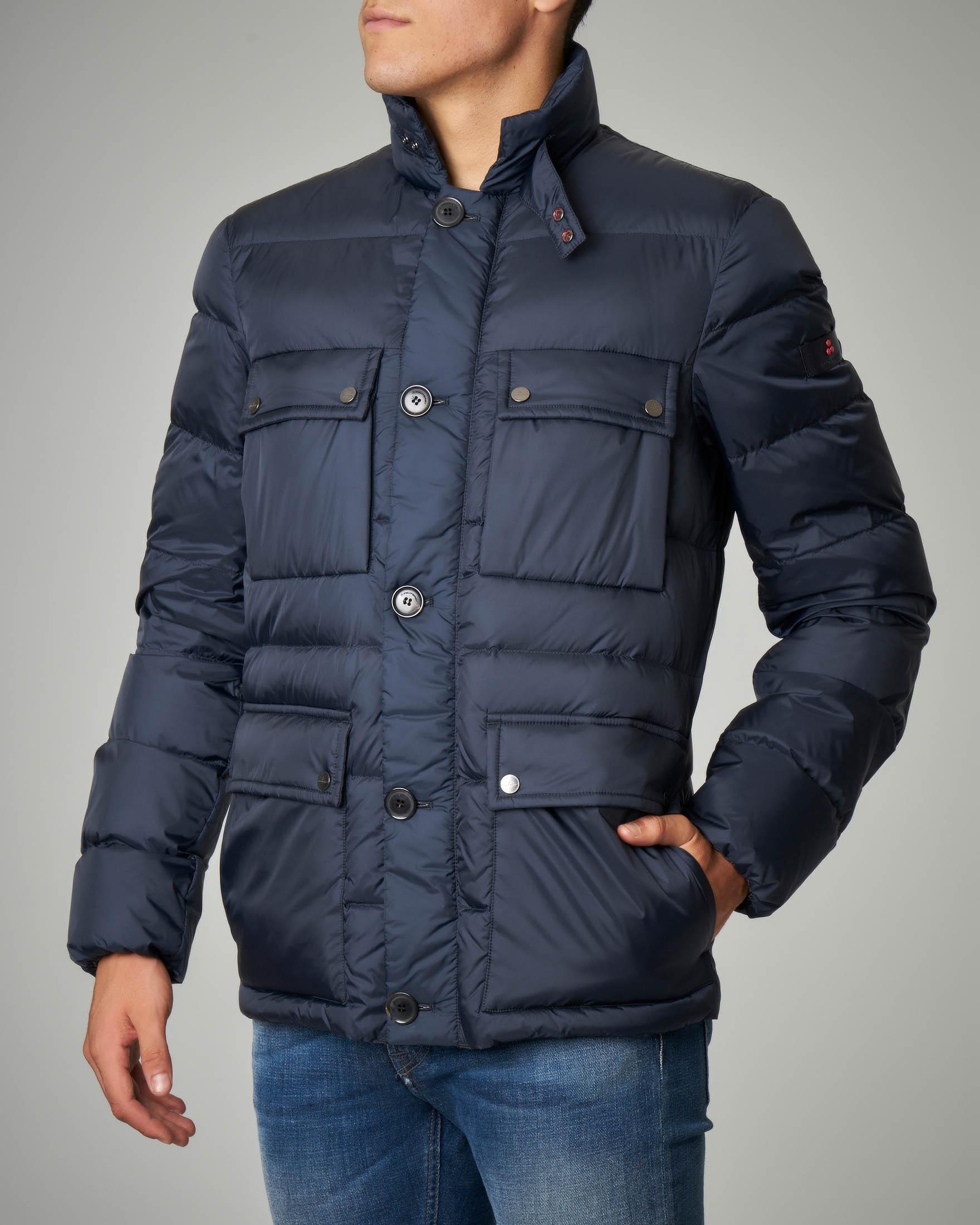 Field jacket blu