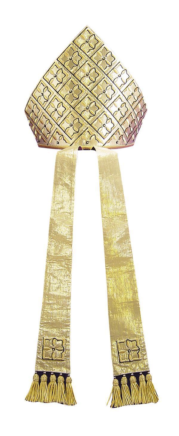 Mitra M19 Cripta Gotica - Seta Lurex