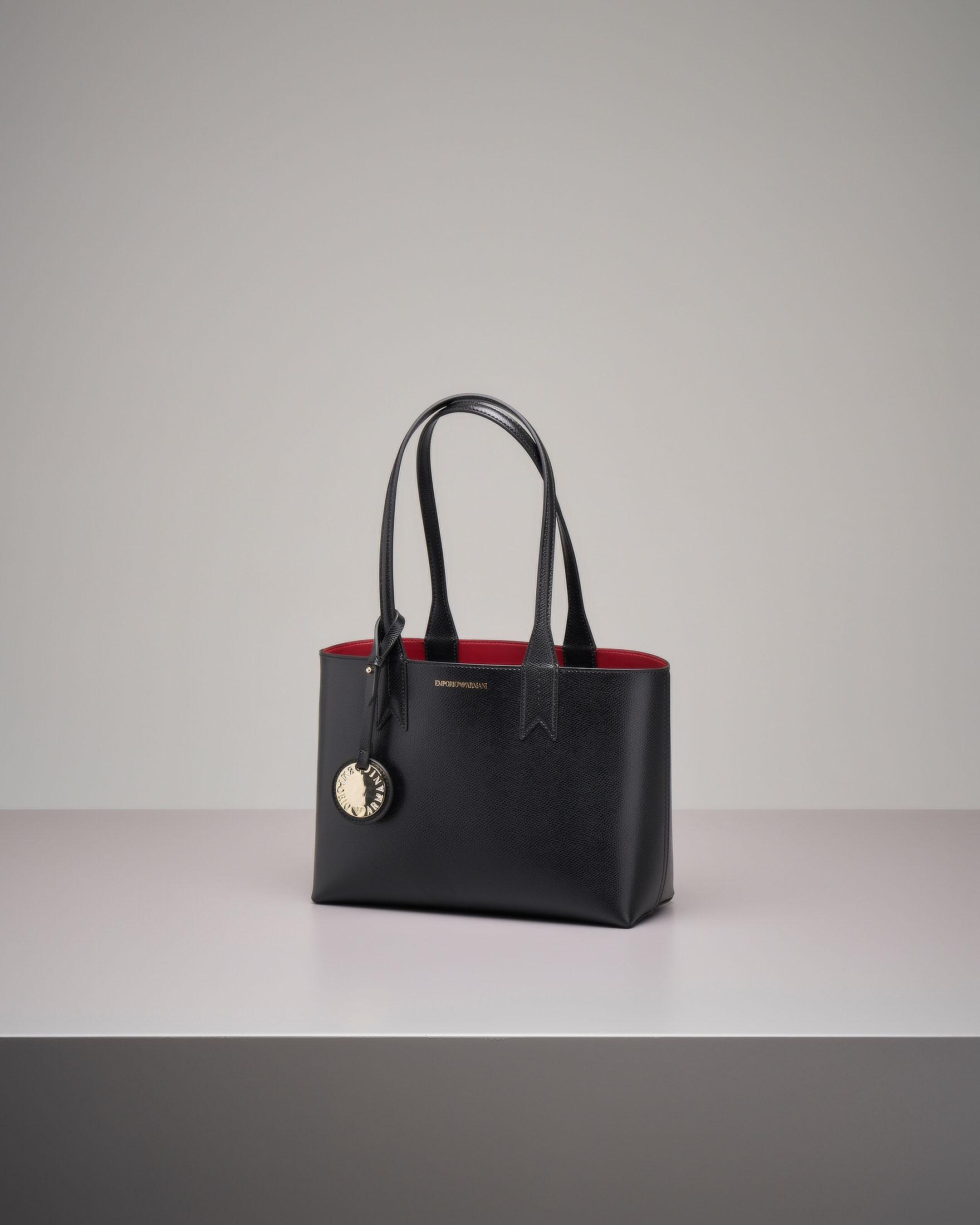 Shopper bag rigida nera misura piccola