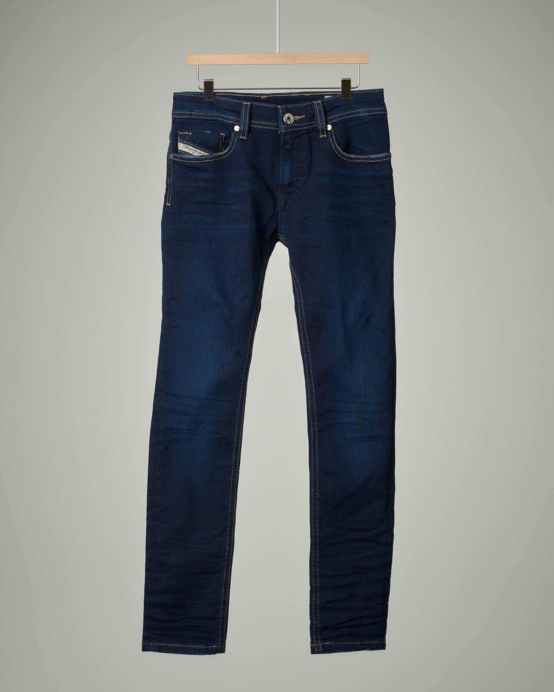 Jeans lavaggio scuro slim fit