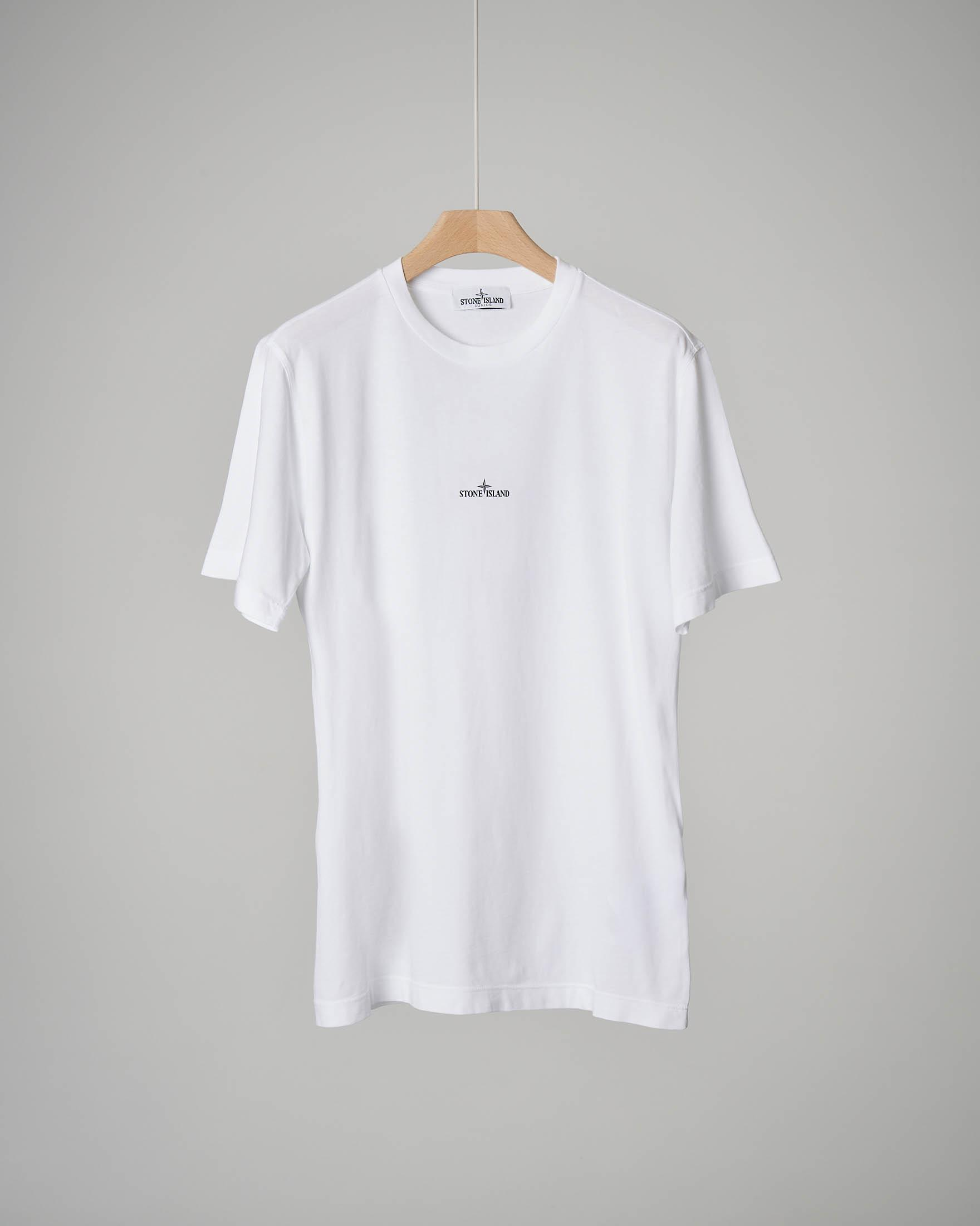 T-shirt bianca girocollo