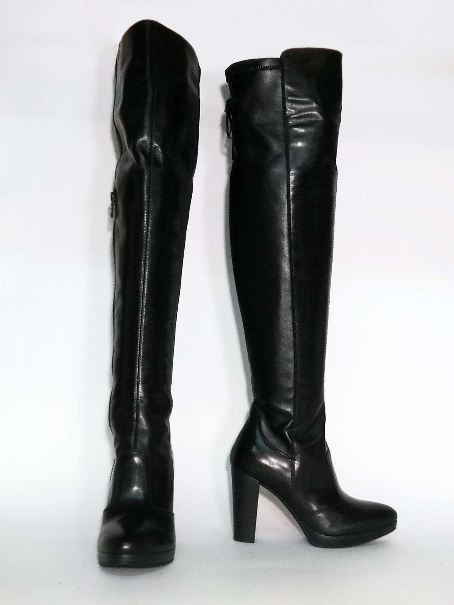 Stivale over-the-knee nero Nero Giardini