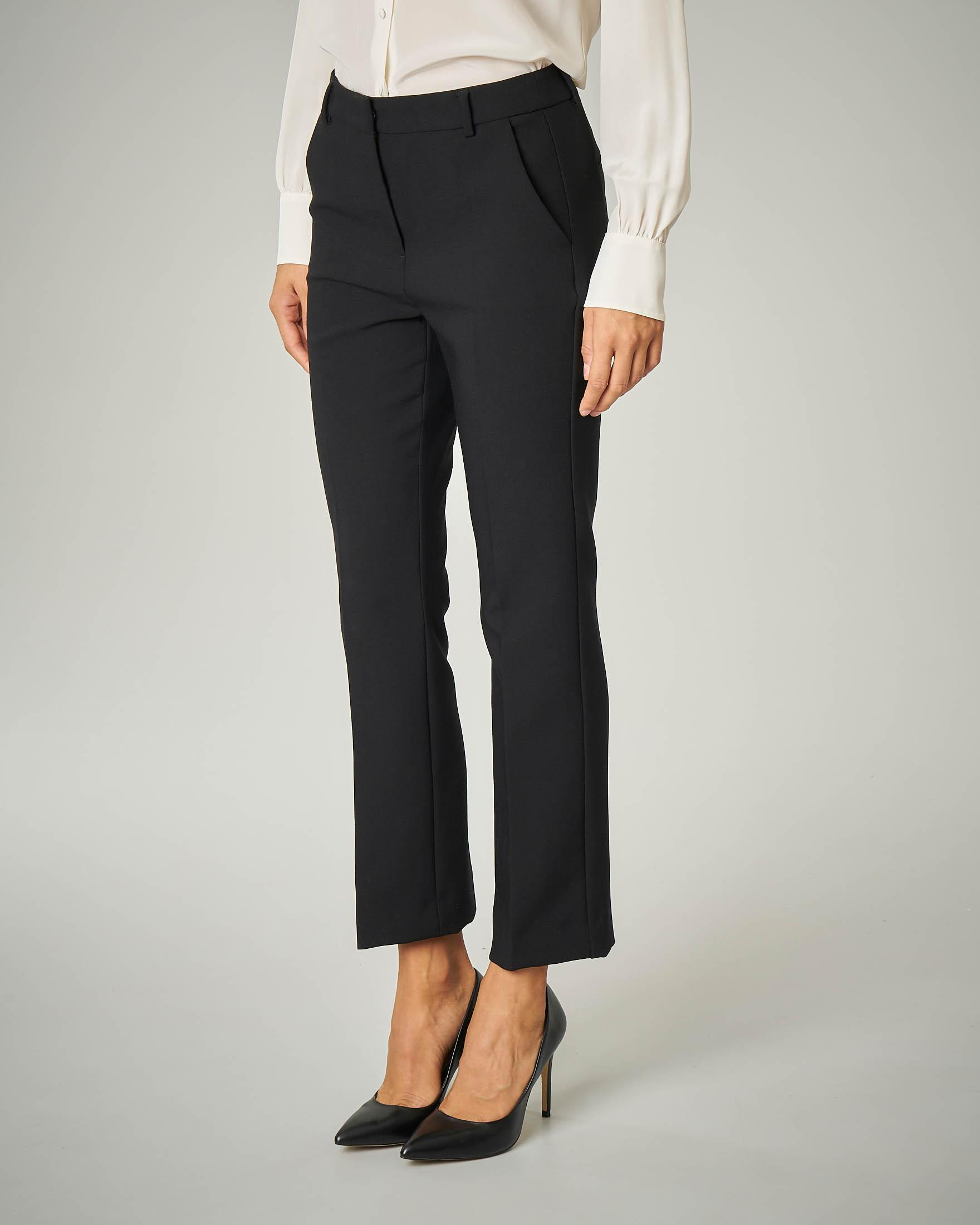Pantalone nero in cady