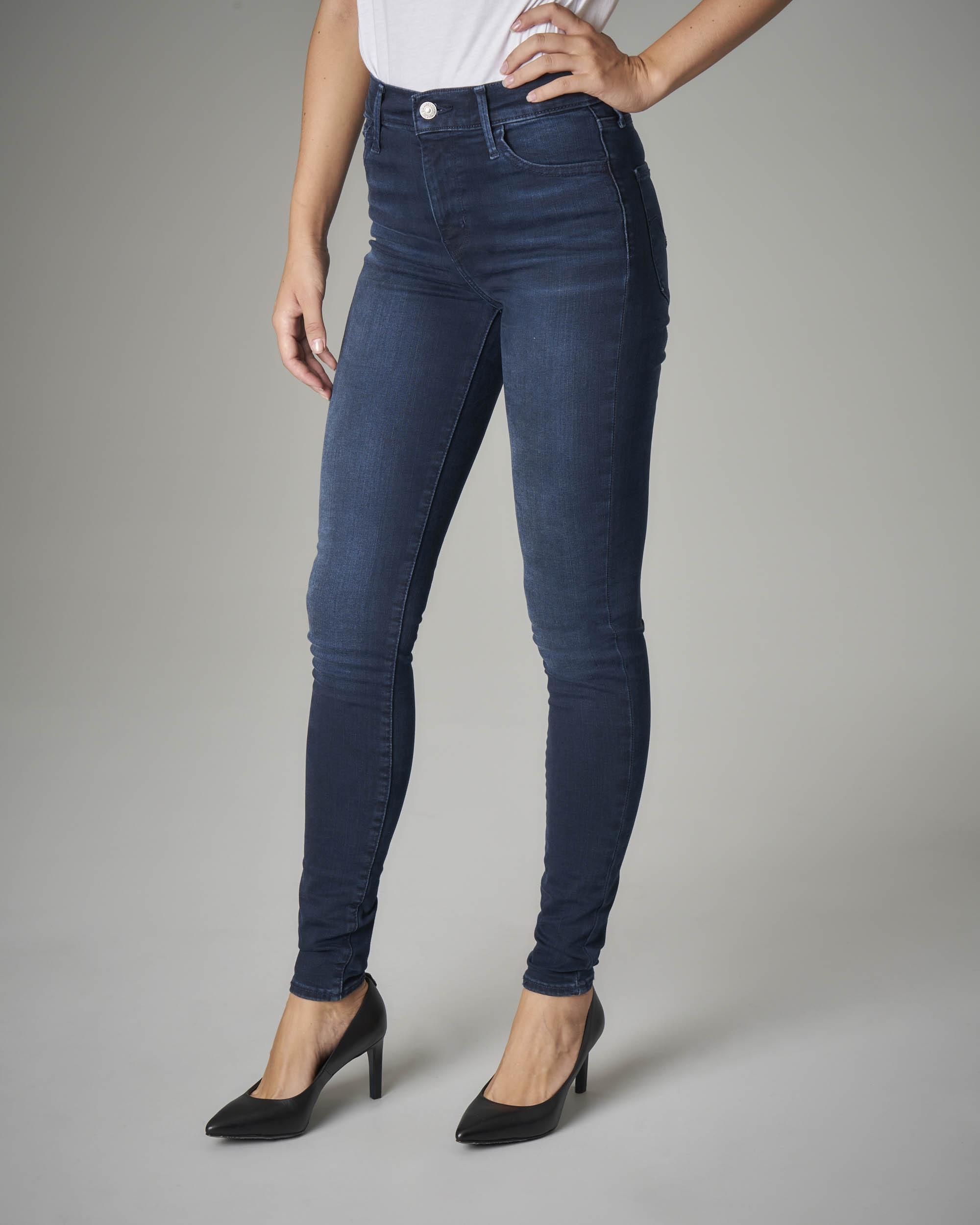 Jeans 720 skinny ultra stretch a vita alta