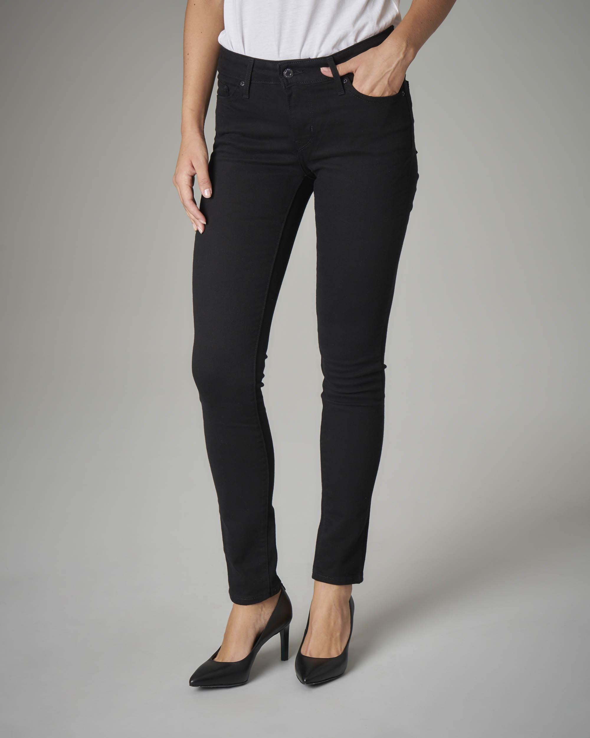 Jeans 711 skinny neri