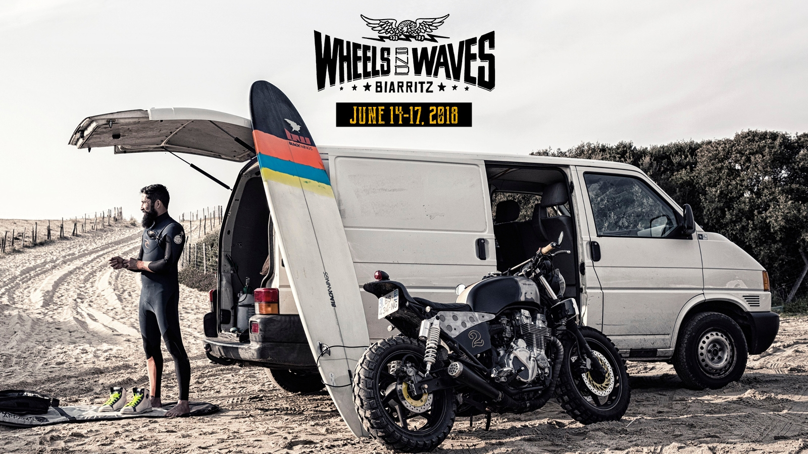 WHEELS AND WAVES - BIARRITZ